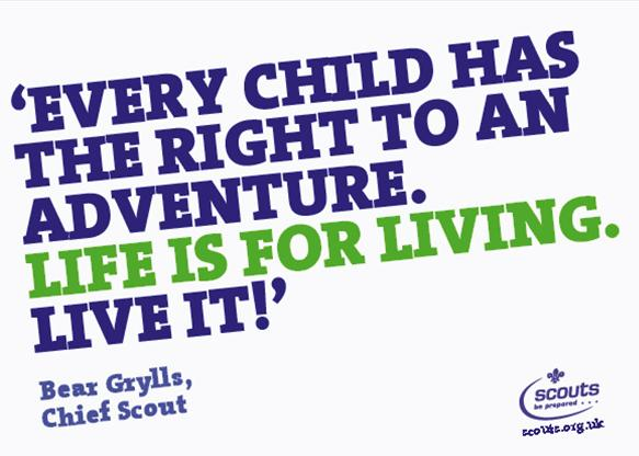 Every child has the right to an adventure